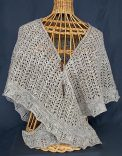 Shepherdess Shawl, deisgned by Amy Loberg